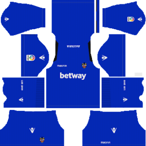 levante goalkeeper home kit 2018-2019 dream league soccer away