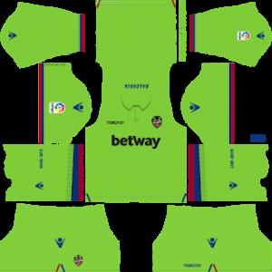 levante third kit 2018-2019 dream league soccer away