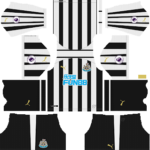 Newcastle United FC Kits 2018/2019 Dream League Soccer