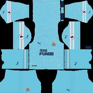 newcastle united third kit 2018-2019 dream league soccer