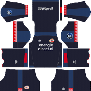 PSV Eindhoven third kit 2018-2019 dream league soccer