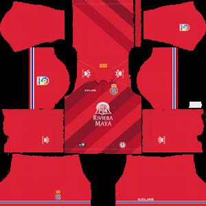espanyol away kit 2018-2019 dream league soccer