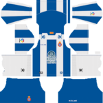 RCD Espanyol Kits 2018/2019 Dream League Soccer