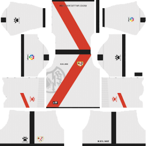 Rayo Vallecano Kits 2018/2019 Dream League Soccer