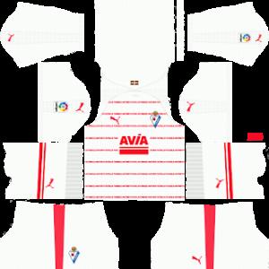 eibar puma away kit 2018-2019 dream league soccer
