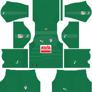 eibar puma goalkeeper home kit 2018-2019 dream league soccer