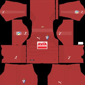 eibar puma goalkeeper third kit 2018-2019 dream league soccer