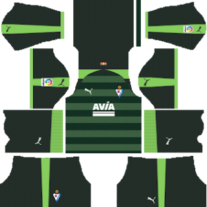 eibar puma third kit 2018-2019 dream league soccer