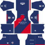 SD Huesca Kits 2018/2019 Dream League Soccer
