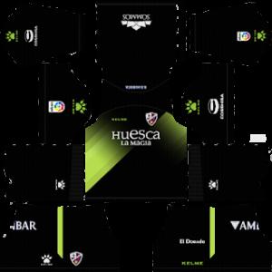 huesca third kit 2018-2019 dream league soccer