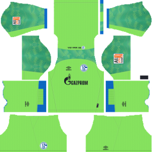 schalke 04 goalkeeper third kit 2018-2019 dream league soccer