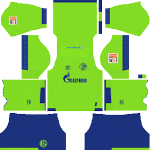 schalke 04 third kit 2018-2019 dream league soccer