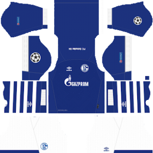 Schalke 04 Kits UCL 2018/2019 Dream League Soccer