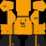 Wolverhampton Wanderers F.C. Kits 2018/2019 Dream League Soccer