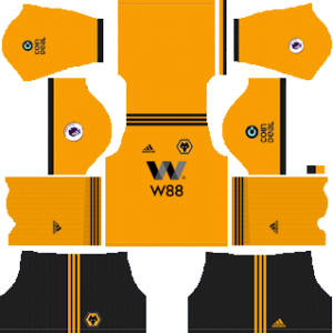 Wolverhampton Wanderers F.C. Kits 2018/2019 Dream League Soccer