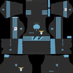 ss lazio goalkeeper home kit 2018-2019 dream league soccer