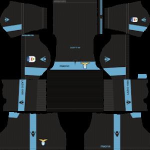 ss lazio third kit 2018-2019 dream league soccer