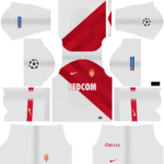 AS Monaco FC UCL Kits 2018/2019 Dream League Soccer