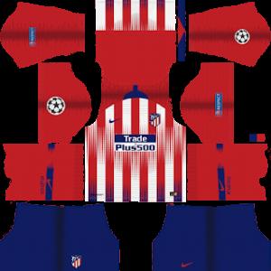 Atletico MadridUCL Kits 2018/2019 Dream League Soccer