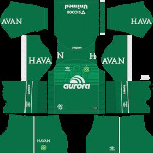 Chapecoense Kits 2018/2019 Dream League Soccer