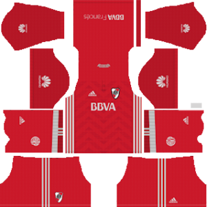 river plate away kit 2018-2019 dream league soccer