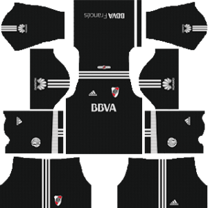 river plate goalkeeper home kit 2018-2019 dream league soccer