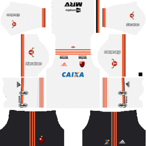 Flamengo away kit 2018-2019 dream league soccer