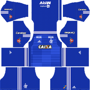 Flamengo goalkeeper away kit 2018-2019 dream league soccer