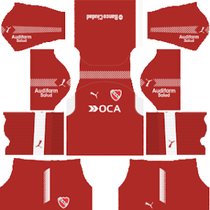 independiente goalkeeper away kit 2018-2019 dream league soccer