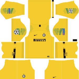 inter milan ucl goalkeeper away kit 2018-2019 dream league soccer