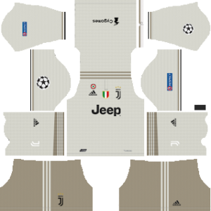 sale retailer e7980 96fda Juventus UCL Kits 2018/2019 Dream League Soccer