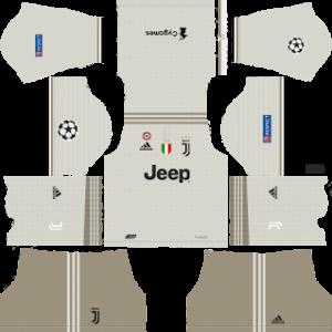 9296ca9b570 juventus ucl away kit 2018-2019 dream league soccer