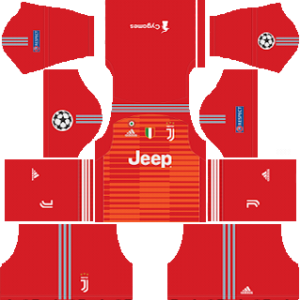 juventus ucl goalkeeper away kit 2018-2019 dream league soccer