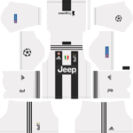 Juventus UCL Kits 2018/2019 Dream League Soccer
