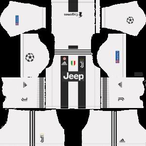 7f6b000892b Juventus UCL Kits 2018 2019 Dream League Soccer