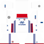 Olympique Lyonnais UCL Kits 2018/2019 Dream League Soccer