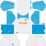 Olympique de Marseille Kits 2018/2019 Dream League Soccer