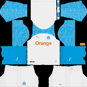 Olympique de Marseille Kits 2018/2019 Dream League Soccer