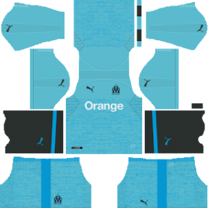 olympique marseille third kit 2018-2019 dream league soccer