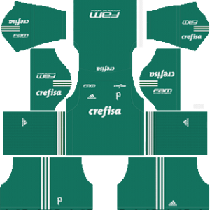 palmeiras goalkeeper away kit 2018-2019 dream league soccer