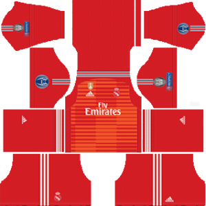 Real Madrid UEFA golakeeper fourth kit 2018-2019 dream league soccer