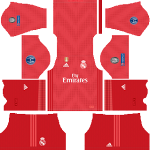 Real Madrid UEFA third kit 2018-2019 dream league soccer