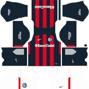 san lorenzo home kit 2018-2019 dream league soccer