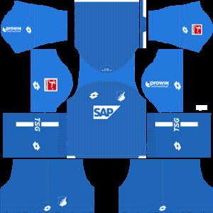 TSG Hoffenheim Dream League Soccer Kits 2018/2019