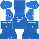TSG Hoffenheim UCL Dream League Soccer Kits 2018/2019