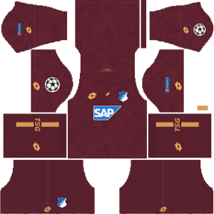 hoffenheim lotto ucl third kit 2018-2019 dream league soccer