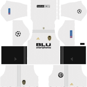 Valencia ucl Kits 2018/2019 Dream League Soccer