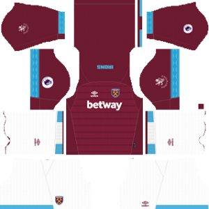 West Ham United Kits 2018/2019 Dream League Soccer