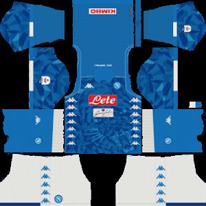 SSC Napoli Kits 2018/2019 Dream League Soccer
