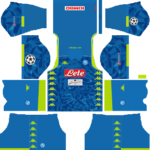 SSC Napoli UCL Kits 2018/2019 Dream League Soccer